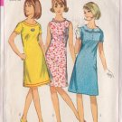 SIMPLICITY PATTERN 6465 JUNIOR PETITES' 1-PIECE DRESS IN 3 VARIATIONS SIZE 7jp