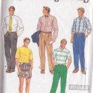 SIMPLICITY VINTAGE 1990 PATTERN 7137 SIZE 36-44 MEN'S PANTS OR SHORTS
