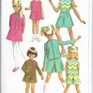SIMPLICITY PATTERN 7566 SIZE 10  GIRLS' JACKET, SKIRT, CULOTTES, BLOUSE