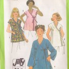 SIMPLICITY 8490 SIZE 12 PATTERN MISSES' MATERNITY TOPS