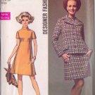 SIMPLICITY 8501 SIZE 14 PATTERN MISSES' DESIGNER DRESS AND JACKET UNCUT