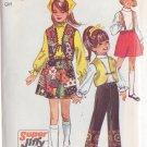 SIMPLICITY PATTERN 8526 SIZE 12 FOR GIRL'S SKIRT, VEST, PANTS