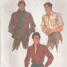 SIMPLICITY PATTERN 8541 SIZE 42 MEN'S SHIRT IN 2 VARIATIONS