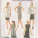 SIMPLICITY PATTERN 8551 SIZE XLG MISSES KNIT DRESS, TUNIC, TOP, PULL ON SKIRTS