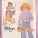 SIMPLICITY PATTERN 8598 SZS 3,4,5 FOR CHILD'S PULLOVER TOPS 3 VARIATIONS