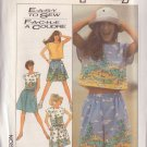 SIMPLICITY PATTERN 8605 SIZE SMALL 10/12 MISSES' TOP, SHORTS, SKIRT UNCUT