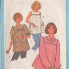 SIMPLICITY PATTERN 8606 SIZE 14  MISSES MATERNITY PULLOVER BLOUSE 3 VARIATIONS