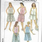 SIMPLICITY PATTERN 8612 SIZE 6/8/10 MISSES DRESS IN 3 LENGTHS