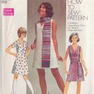 SIMPLICITY PATTERN 8613 SZ 12 MISSES DRESS IN 2 VARIATIONS, SASH OR SCARF
