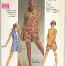 SIMPLICITY PATTERN 8667 SIZE 13jp JUNIOR PETITE MINI PANTDRESS
