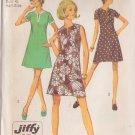SIMPLICITY PATTERN 8702 SIZE 18 1/2 MISSES' JIFFY DRESS