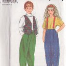 SIMPLICITY PATTERN 8716 SIZES 2-6X CHILD'S PANTS AND LINED VEST
