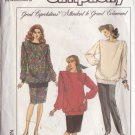 SIMPLICITY PATTERN 8756 SIZE 6/8  MISSES' MATERNITY TOP, PANTS, SKIRT
