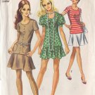 SIMPLICITY PATTERN 8780 SIZE 11  JUNIOR 2 PIECE DRESS IN 3 VARIATIONS