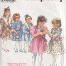 SIMPLICITY PATTERN 8787 SIZE 2 TODDLER'S DRESS IN 5 VARIATIONS, HEADBAND