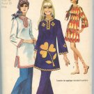 SIMPLICITY PATTERN 9156 SIZE 16  MISSES' DRESS OR TUNIC 2 LENGTHS AND PANTS