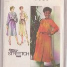 SIMPLICITY PATTERN 9161 FOR SIZES 10-12 MISSES' PULLOVER DRESS AND SASH