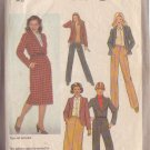 SIMPLICITY PATTERN 9170 SIZE 10 MISSES' SKIRT, PANTS AND UNLINED JACKET