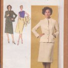 SIMPLICITY PATTERN 9243 SIZE 12 MISSES' SKIRT, BLOUSE AND LINED JACKET