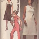 SIMPLICITY PATTERN 9253 SIZE 12 MISSES' DRESS OR TUNIC AND PANTS