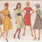 SIMPLICITY PATTERN 9255 SIZE 12 MISSES' DRESS OR JUMPER IN 5 VARIATIONS