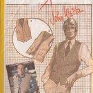 SIMPLICITY PATTERN 9793 SZ 42 MEN'S SET OF VESTS BY JOHN WEITZ