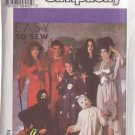 SIMPLICITY VINTAGE PATTERN 9304 SIZES XS-LG ADULT COSTUMES