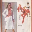 SIMPLICITY PATTERN 9313 SIZE 12 MISSES' SKIRT, PANTS AND UNLINED JACKET