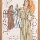 SIMPLICITY PATTERN 9389 SIZE 12 MISSES' DESIGNER DRESS 2 LOOKS UNCUT