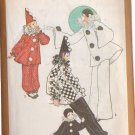 SIMPLICITY VINTAGE PATTERN 9579 SIZES 6 & 8 CHILD'S CLOWN COSTUMES
