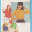 SIMPLICITY VINTAGE PATTERN 9564 SIZES 7 & 8 CHILD'S SHIRTS