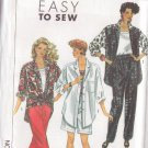SIMPLICITY VINTAGE 1990 PATTERN 9603 SZ 6-14 MISSES' PANTS SHORTS TOP OS SHIRT