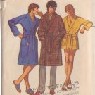 SIMPLICITY VINTAGE 1971 PATTERN 9637 MEN'S SIZE SMALL 34-36 ROBE 2 LENGTHS