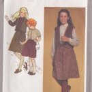 SIMPLICITY VINTAGE 1980 PATTERN 9736 SIZE 10 GIRL'S SKIRT, BLOUSE, VEST