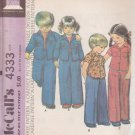 McCall's VINTAGE 1974 PATTERN 4333 SIZE 2 CHILD'S SHIRT OR SHIRT-JACKET, PANTS UNCUT