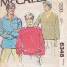 McCALL'S VINTAGE 1978 PATTERN 6346 SIZE MD 38/40 MEN'S SHIRTS UNCUT