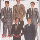 McCALL'S VINTAGE 1985 PATTERN 2105 SIZE 42 MEN'S JACKET