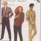 McCALL'S VINTAGE 1985 PATTERN 2250 SIZE 12 MISSES' SHIRT, VEST, PANTS