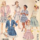 McCALL'S PATTERN 3203 SIZE 12 GIRLS' JACKET TOP SHIRT SKIRT PETTICOAT