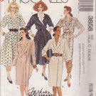 McCALL'S PATTERN 3858 DATED 1988 SIZE 10/12/14 MISSES DRESSES IN 5 STYLES UNCUT