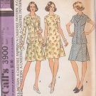 McCALL'S PATTERN 3900 DATED 1973 SIZE 12 MISSES DRESS & JACKET UNCUT