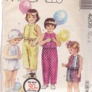 McCALL'S PATTERN 4205 SIZE 2 GIRL'S TOP, PANTS, SHORTS, BLOOMERS UNCUT
