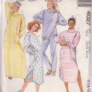 McCALL'S PATTERN 4027 DATED 1988 SZ XS 6/8 MISSES ROBE OR LOUNGER TOP PANTS UNCUT