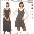 McCall's Pattern 7946 dated 1995 size Medium 10/12/14 Misses' Jumper & Top UNCUT