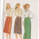 Butterick pattern 3342 size 12 not dated, for a misses'skirt in 3 variations