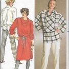 Butterick pattern 3420 size 8/10/12 MISSES' DRESS TOP & PANTS UNCUT