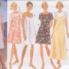 BUTTERICK PATTERN 3493 SIZE 6/8/10/12 MISSES' DRESS 4 VARIATIONS UNCUT