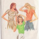 BUTTERICK PATTERN 3753 SIZE SMALL 8/10 TOPS 3 VARIATIONS
