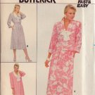 BUTTERICK PATTERN 3756 SIZE 14/16/18 TOP & SKIRT 3 VARIATIONS UNCUT