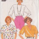 BUTTERICK PATTERN 3900 SIZES P/S/M MISSES' TOP 3 VARIATIONS